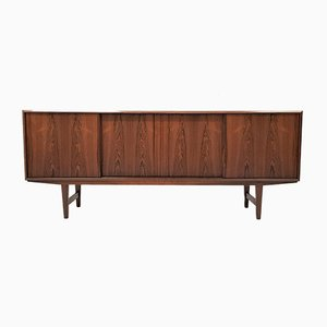 Rosewood Credenza by E. W. Bach for Sejling Skabe, 1960s