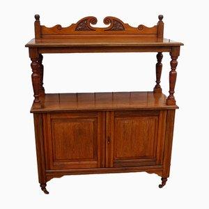 Vintage English Chiffonier Cabinet