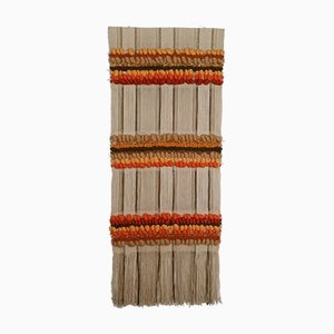 Hand-Woven Wool Tapestry by Maria Svatina for Svatina, 1970s
