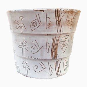 Vintage Keramikvase, 1980er