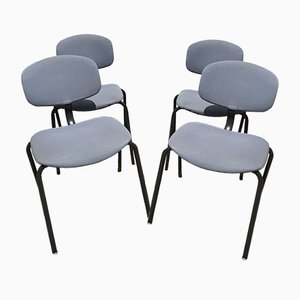 Dining Chairs from Steelcase Strafor, 1980s, Set of 4