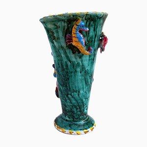 Vase von Salvatore Procida für Procida Vietri, 1970er