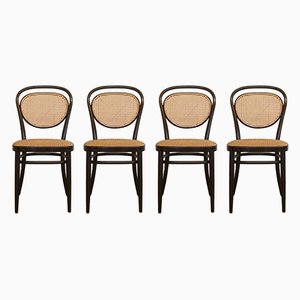No 215R Stühle von Thonet, 1981, 4er Set