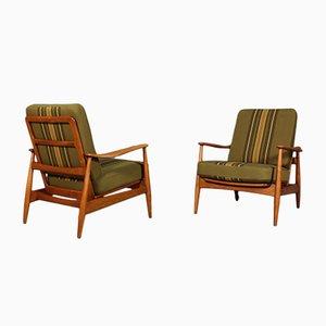 Vintage Sessel von Arne Vodder für France & Søn, 2er Set