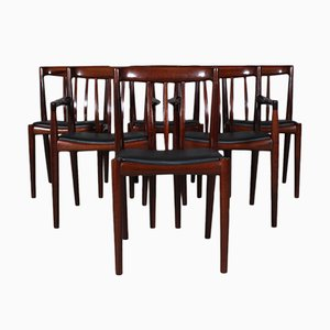 Dänische Mid-Century Esszimmerstühle von H.W. Klein für Bramin, 1960er, 6er Set