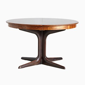 Mid-Century Rosewood Dining Table by Erik Buch for CJ Rosengaarden, 1960s