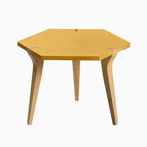 Low Yellow Tabuli Table by Vincenzo Castellana for DESINE, 2018