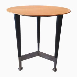 Vintage Pedestal Side Table by Michel Boyer
