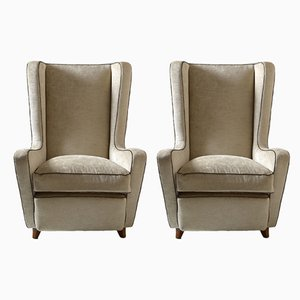 Vintage Armchairs by Italo Gamberini, Set of 2