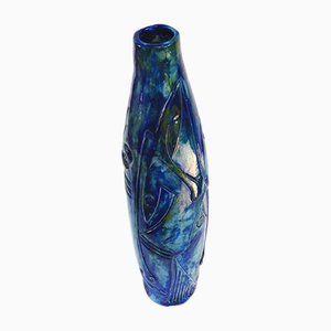 Bottle Vase by Walter & Danilo Ottolin, 1970s