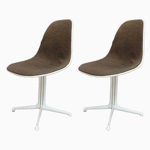 Sillas La Fonda de Charles & Ray Eames, años 60. Juego de 2