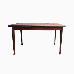 Vintage Danish Extendable Rosewood Dining Table