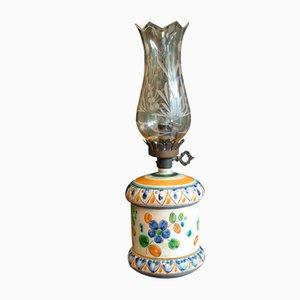 Lámpara de mesa de cerámica de Luigi Santi, años 70