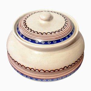 Keramikbox mit Deckel von Eric Luigi, 1970er