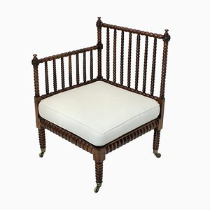 Chaise d'Angle Bobbine Antique, 1820s
