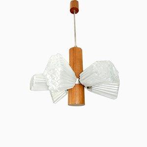 Lustre à 6 Lampes de Temde, 1960s