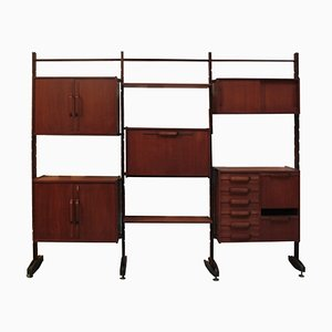 Teak Modular Shelf, 1950s