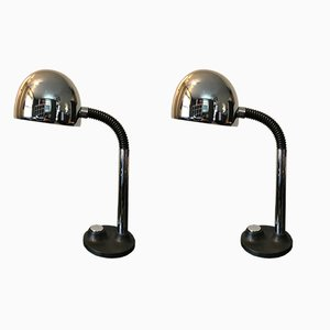 Desk Lamps by Egon Hillebrand, 1970s, Set of 2