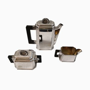 Set da tè vintage in stile Art Déco