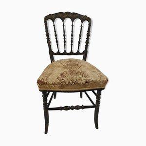 Silla de comedor Napoleón III antigua