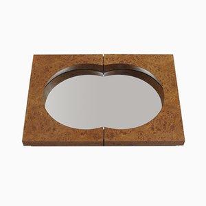 Spiegel mit Rahmen aus Ulmenholz von Desmond Ryan, 1990er
