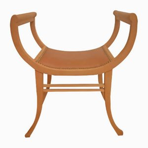 Antiker Hocker von Thonet
