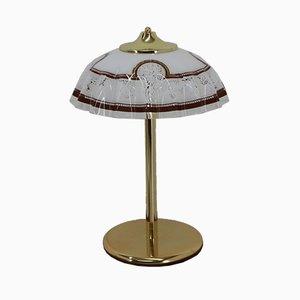 Lámpara de mesa italiana, años 80