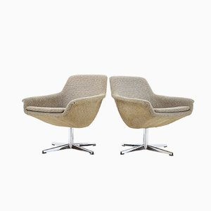 Swivel Chairs, 1970s, Set of 2