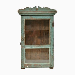 Patinated Wooden Cabinet, 1940s