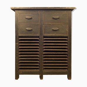 Wooden Workshop Cabinet, 1940s