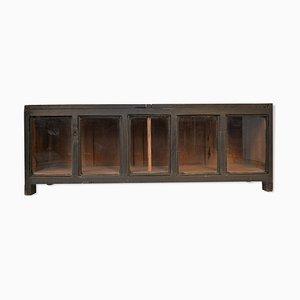 Black Display Cabinet, 1940s