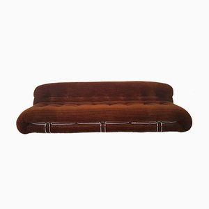 3-Seater Sofa by Tobia & Afra Scarpa for Cassina, 1970s
