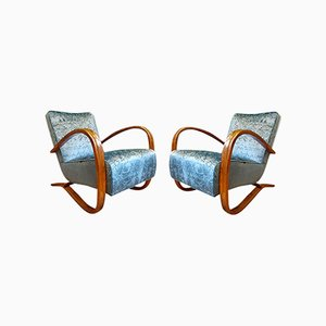 Lounge Chairs by Jindrich Halabala, 1920s, Set of 2