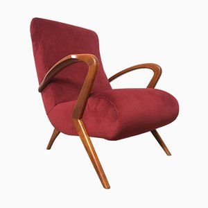 Lounge Chair by Paolo Buffa, 1950s