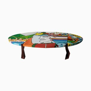 Cantastorie Art Table by Notempo and Michelangelo Lacagnina