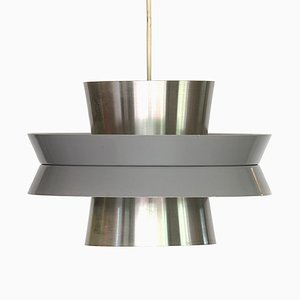Swedish Aluminum Pendant Lamp by Carl Thore for Granhaga Metallindustri, 1960s
