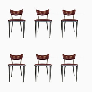 Vintage Model BA23 Dining Chairs by Ernest Race, Set of 6