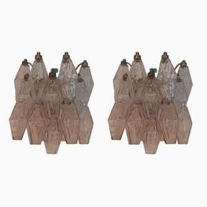 No. 2 Sconces by Carlo Scarpa for Venini, 1950s, Set of 2