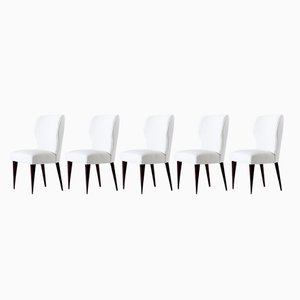 Dining Chairs by Lio Carminati for Casa e Giardino, 1942, Set of 5
