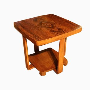 Small Vintage Art Deco Rosewood Side Table