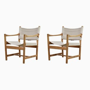 Easy Chairs by Ditte and Adrian Heath for FDB, 1960s, Set of 2
