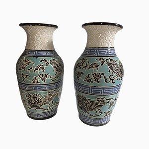 Vases Art Déco de Keramis, 1920s, Set de 2