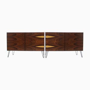 Upcycled Palisander Sideboards from Omann Jun, 1960s, Set of 2