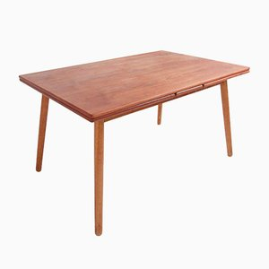 Vintage Teak Dining Table by Poul Volther