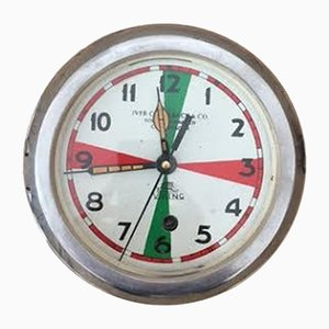 Vintage Marine Clock, 1940s