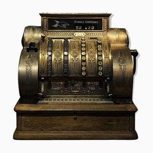 Caja registradora antigua, años 10