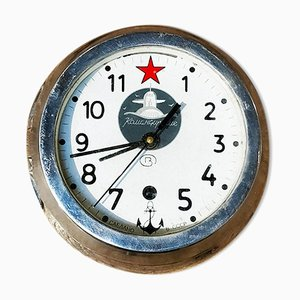 Russian Ship Clock, 1940s