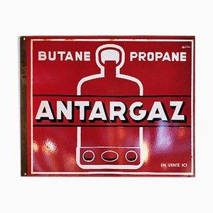 Cartel de Antargaz esmaltado, años 40