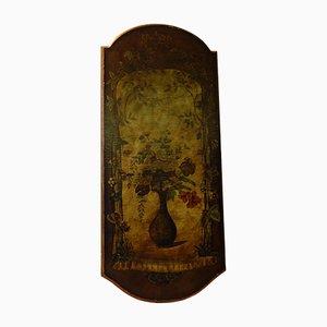 Pannello decorativo vintage dipinto a mano, anni '20