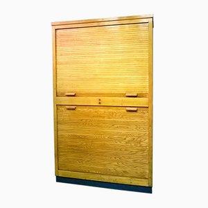 Italian Double Shutter Door Cabinet, 1930s